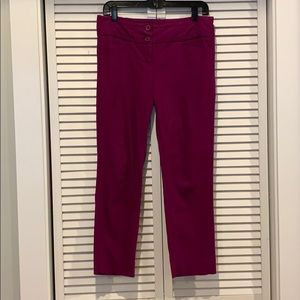 Limited Exact stretch ankle pant